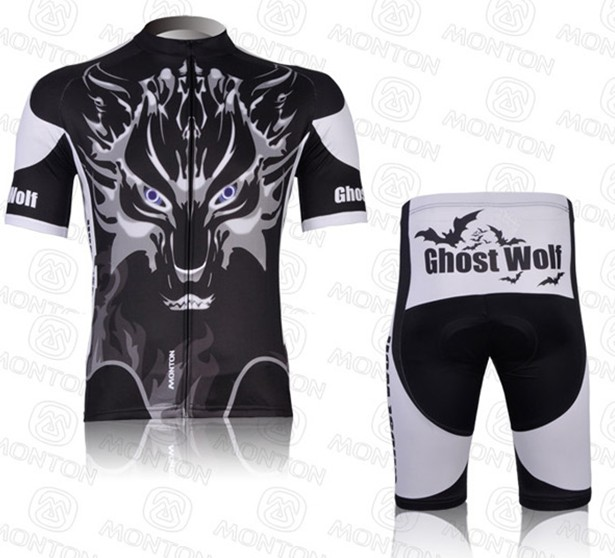Maillot Ghost Wolf mangas largas