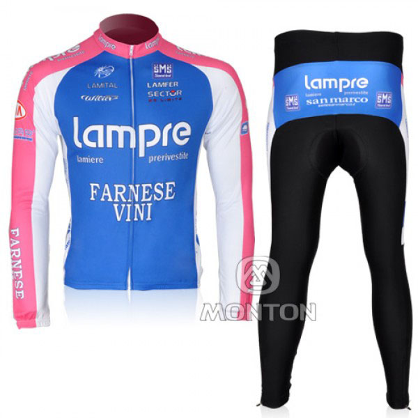 2010 Maillot lampre mangas largas